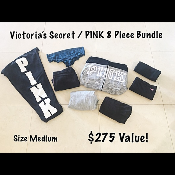 Victoria's Secret / PINK 8 Piece Bundle